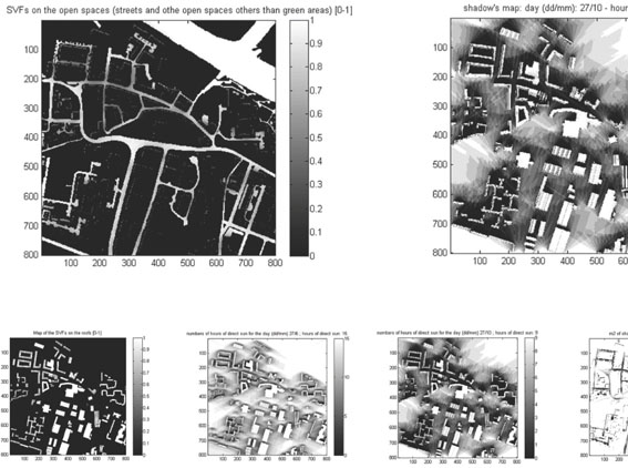 MScUD 2009-10: Students' analysis, group 5: urban fabric comparative analysis