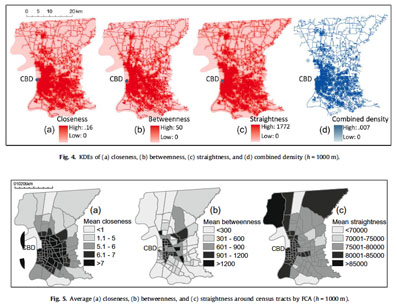 Articles 2010: Centrality and land use intensity in Baton Rouge, Louisiana
