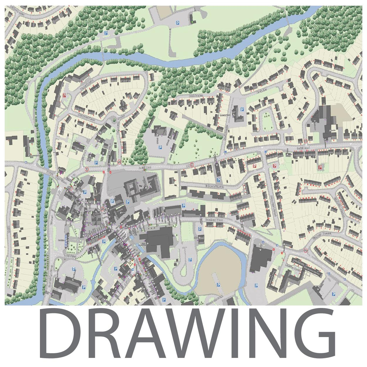 Drawing the Existing City