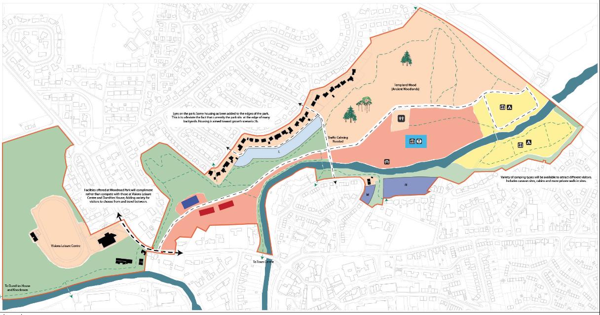 Woodroad Park Foundation Masterplan