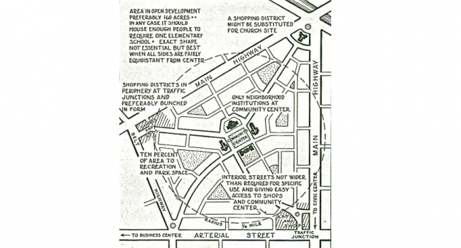Neighborhood Unit paper in print on J. of Urbanism