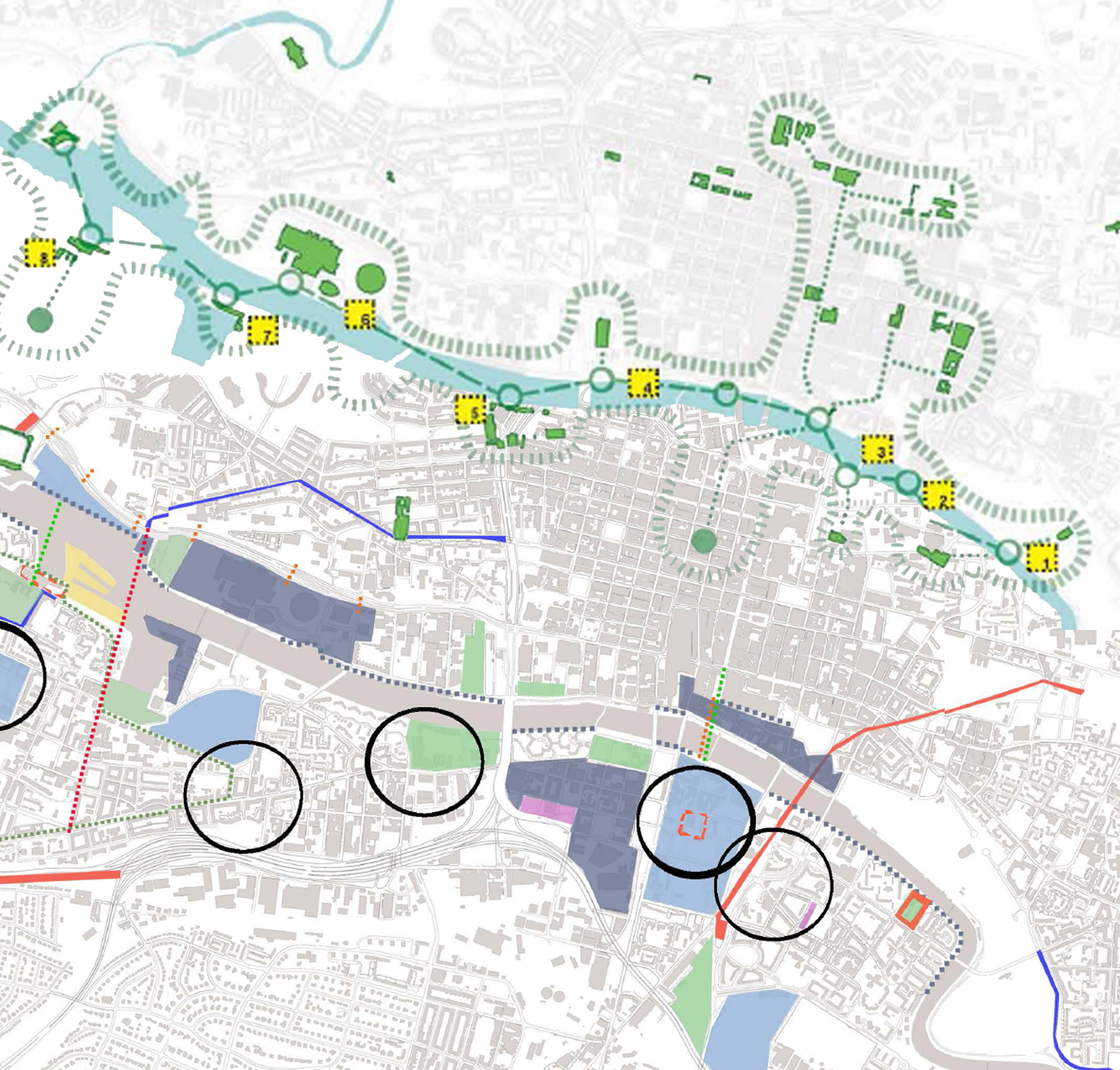 "Future Glasgow: ""Glasgow's Urban Spine"" Strategy"
