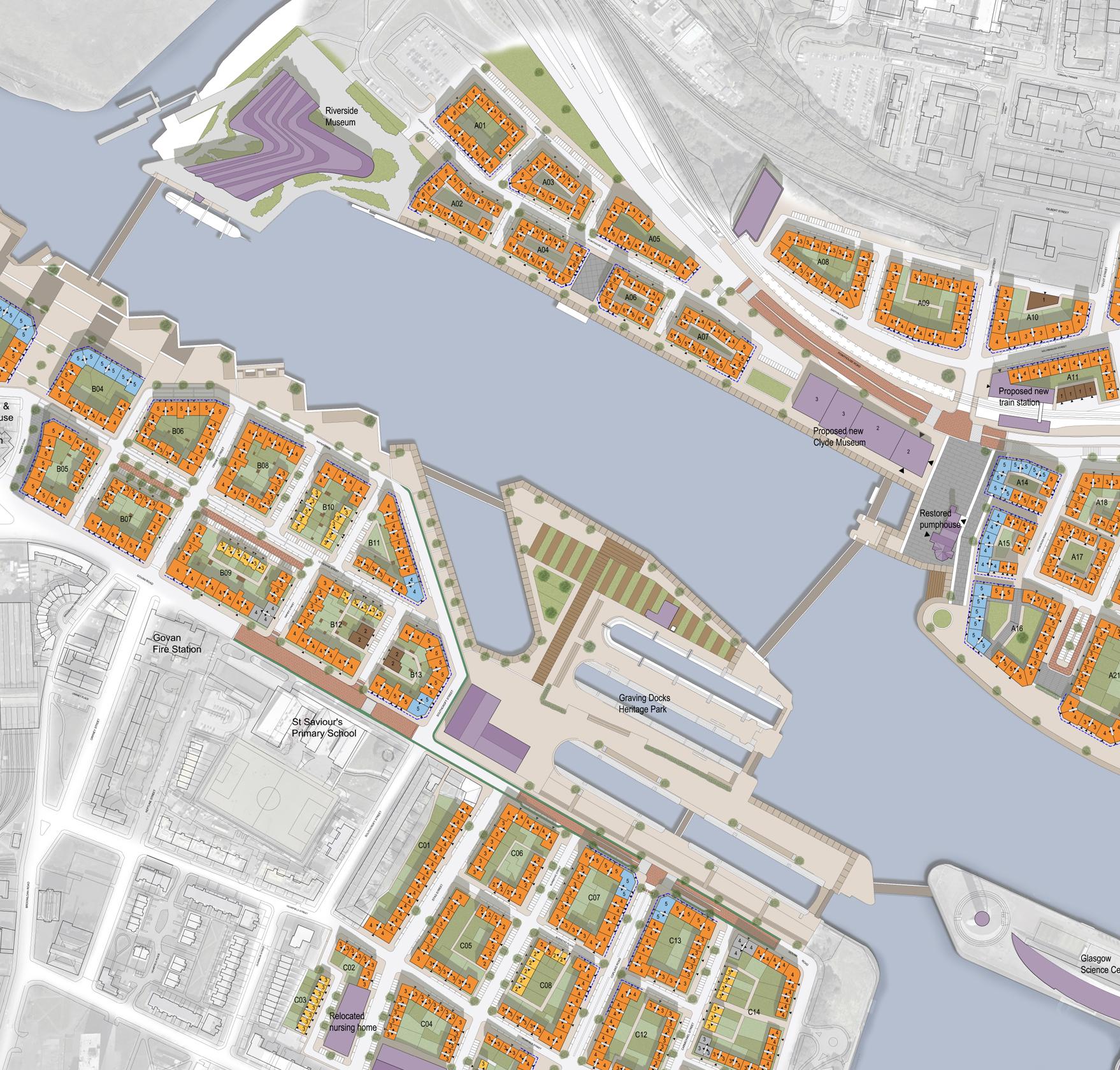 """Future Glasgow: """"Glasgow Cultural Hub"""" Masterplan"""