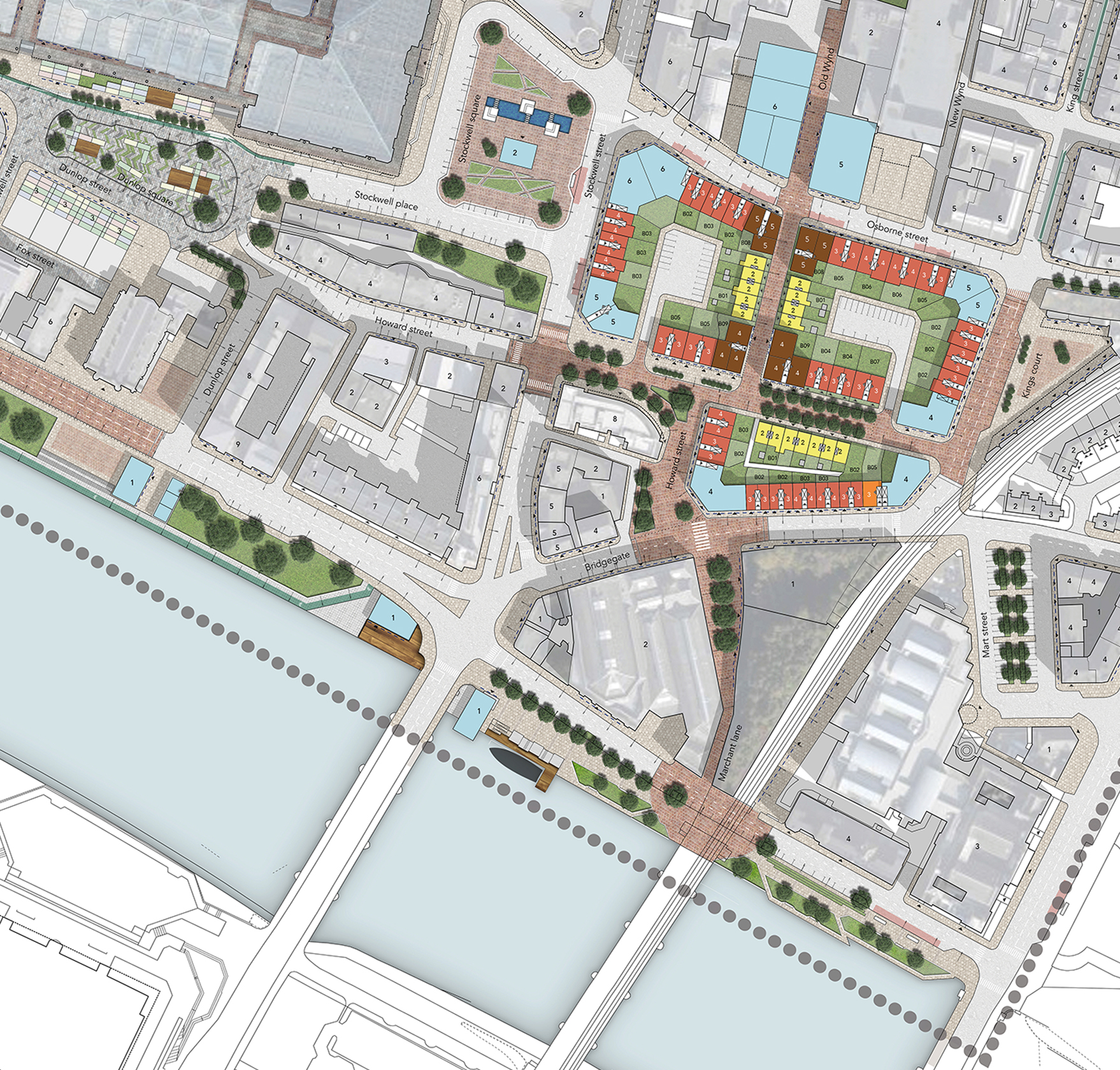 "Future Glasgow: ""The Saint Enoch District Vision"" Masterplan"